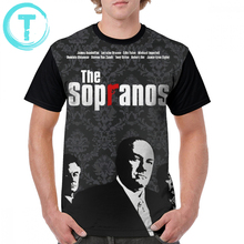 Sopranos T Shirt The T-Shirt Man Short Sleeve Graphic Tee Printed Awesome Casual Plus size  Tshirt