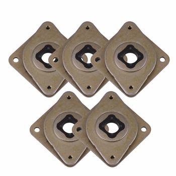 Hot 5 sztuk NEMA 17 tłumik drgań silnika silnik krokowy amortyzator do drukarki silnik krokowy tanie i dobre opinie WALFRONT Motor Vibration Damper metal rubber 2 1cm 0 8inch