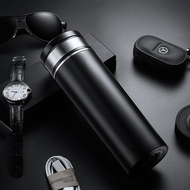 Portable 350ml Car Auto Heating Cup Adjustable Temperature Car Boiling Mug Electric Kettle Boiling Vehicle Thermos in Vacuum Flasks Thermoses from Home Garden
