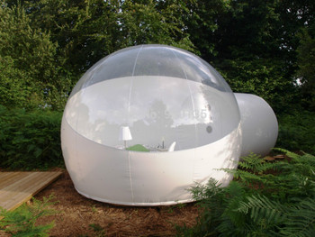 Transparent Outdoor Camping Inflatable Clear Bubble Tent Free shipping With air pump 2