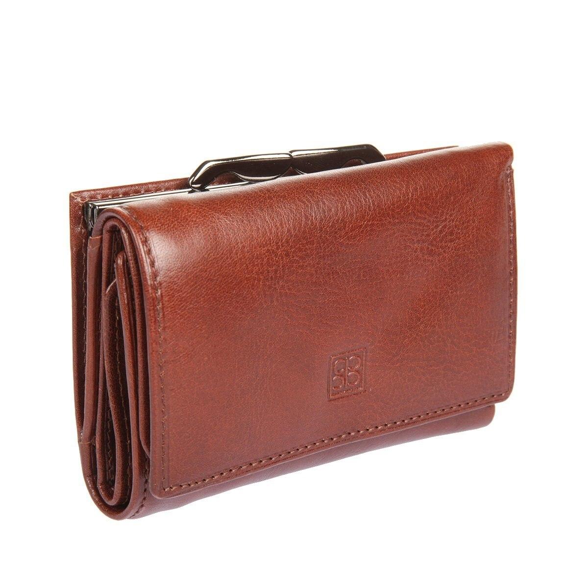 Coin Purse Sergio Belotti 2101 Milano Brown women 3 cute cat short wallet animal printing purse card holder coin bags