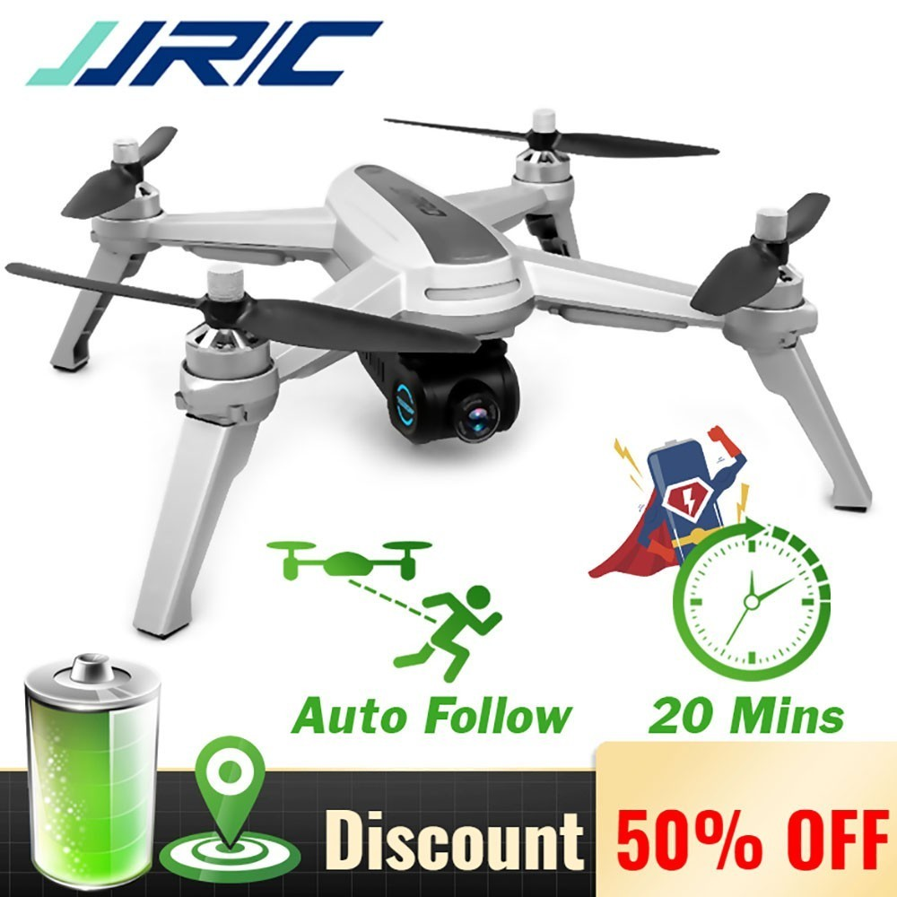 New JJRC JJPRO X5 X5P 5G Professional RC <font><b>Drone</b></font> With WiFi FPV 2K <font><b>4K</b></font> HD Camera <font><b>Brushless</b></font> GPS Positioning Altitude Hold Quadcopter image