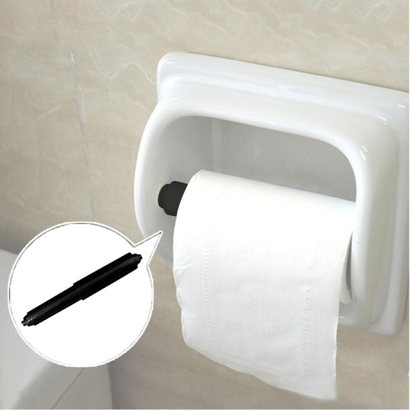 2PCS Roll Paper Box Accessories Repair Replace Retractable Stick Tissue Box Shaft Core Shaft Spring Bracket Toilet Paper Toilet