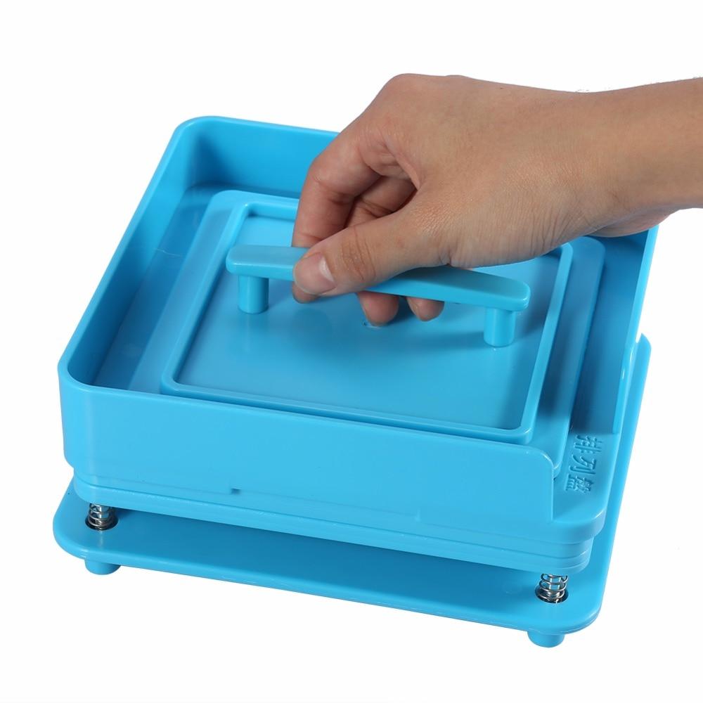 Image 5 - 100Holes Plastic Manual Capsule Filler Size 0# 1# Capsule Powder Filler Plate Manual Filling Machine Tool For DIY Herbal CapsulePill Cases & Splitters   -