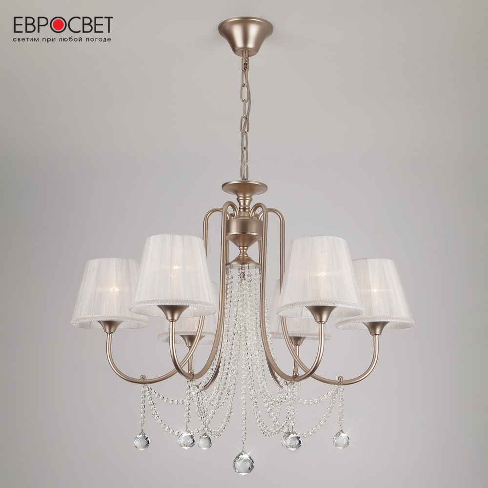 Chandeliers Eurosvet 134429 ceiling chandelier for living room to the bedroom indoor lighting jueja modern crystal chandeliers lighting led pendant lamp for foyer living room dining bedroom