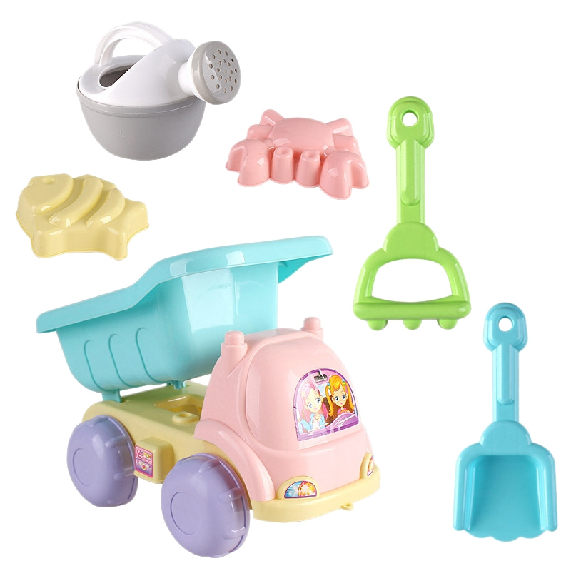 6 Sets Of Children Playing Sand Dredging Tools Playing Water Beach Toys
