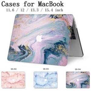Image 1 - חדש עבור מחשב נייד מקרה שרוול מחברת שקיות עבור MacBook רשתית 11 12 13 15.4 13.3 אינץ עם מסך מגן מקלדת קוב