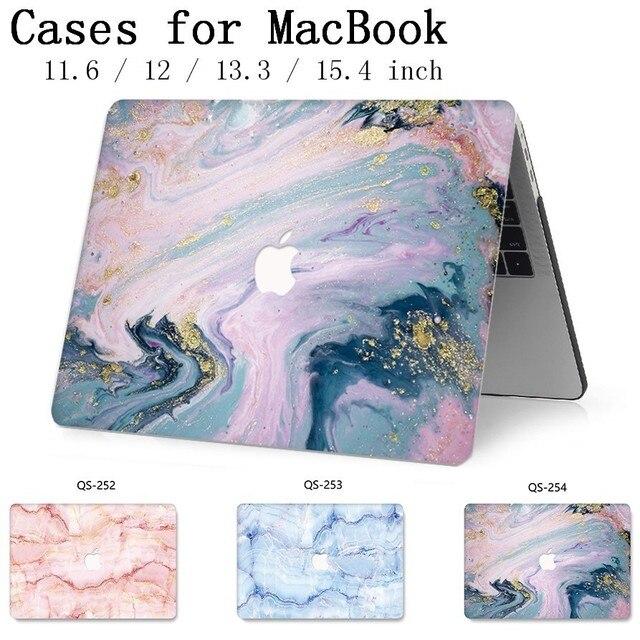חדש עבור מחשב נייד מקרה שרוול מחברת שקיות עבור MacBook רשתית 11 12 13 15.4 13.3 אינץ עם מסך מגן מקלדת קוב