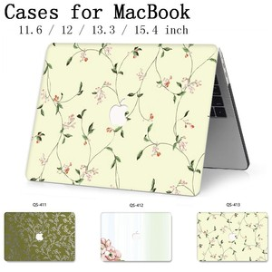 Image 1 - For MacBook Air Pro Retina 11 12 13 15 For 2019 Apple New Laptop Case Bag 13.3 15.6 Inch With Screen Protector Keyboard Cove bag