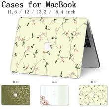 Para MacBook Air Pro Retina 11 12 13 15 Para 2019 Apple Novo Saco Caso Laptop De 13.3 15.6 Polegada Com protetor de tela Teclado saco Enseada