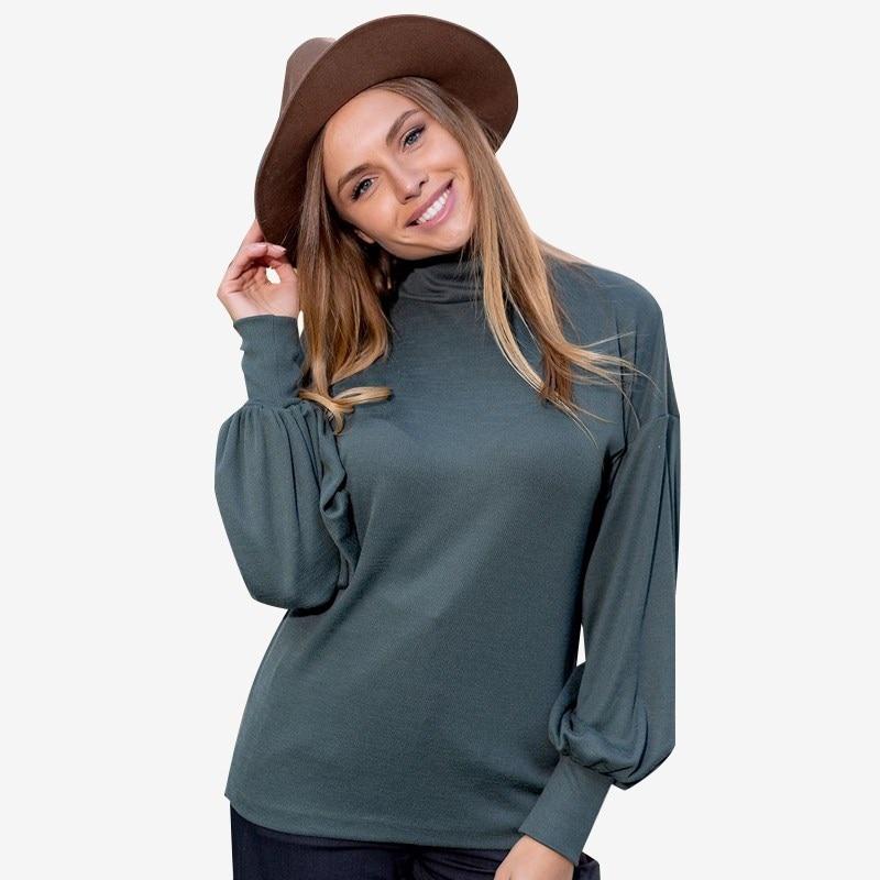 Turtleneck 0701000-30 turtleneck cold shoulder jumper dress