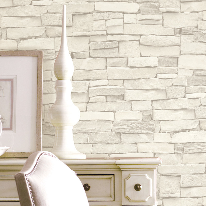 Brick Vintage Wallpaper 3d White Black Modern Papel Parede Wall Paper 3d Waterproof Tapete For Living Room Background Wallpapers