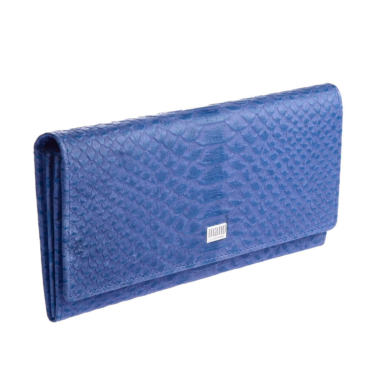 Coin Purse Mano 20150 Croco blue босоножки croco