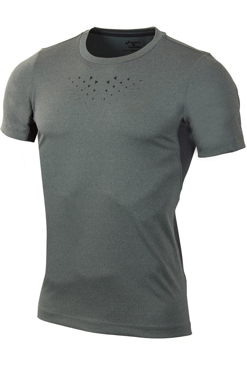 T-Shirt ASICS 141198-0773 sports and entertainment for men men s korean version flaming sports car printing pattern short sleeve t shirt grey size xl
