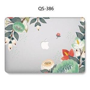 Image 4 - Novo caso do portátil para apple macbook 13.3 15.6 Polegada para macbook ar pro retina 11 12 13 15.4 com protetor de tela teclado cove