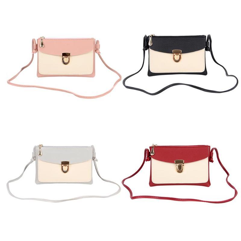 2018 New Bullet Lock Small Side Of Mini Mobile Phone Bag Messenger Bag Nice Women Bags Shoulder Bags Fashion Handbags 6