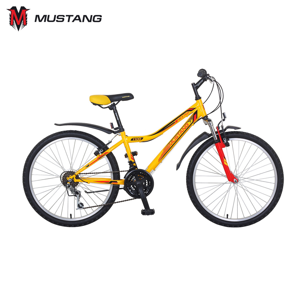 Bicycle Mustang 265253 bicycles teenager bike children for boys girls boy girl gub 328 bike bicycle handlbar mount holder for speedometer flashlight golden