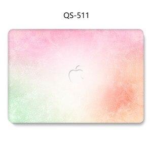 Image 3 - Funda para ordenador portátil para MacBook 13,3 de 15,4 pulgadas para MacBook Air Pro Retina 11 12 13 15 con funda protectora de pantalla para teclado apple caso