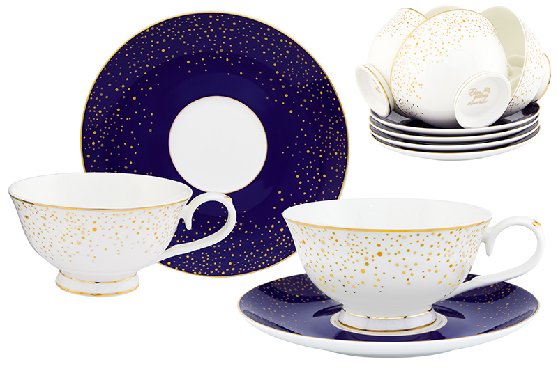 Available from 10.11 Tea-set Day and night 12 items Elan Gallery 530082