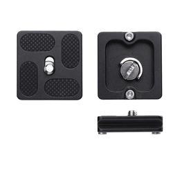 Universal Tripod Monopods PU40 Quick Release Plate J1 N1 Tripod Ball Head Arca Swiss w/1/4 inch Screw Camera Accessory