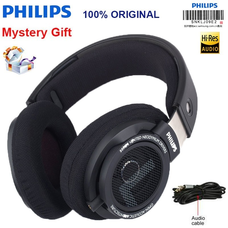 original Philips headset Shp9500 Professional Earphone 3m Long Wire Noise Reduction Headphones For Mp3 Smartphone computer