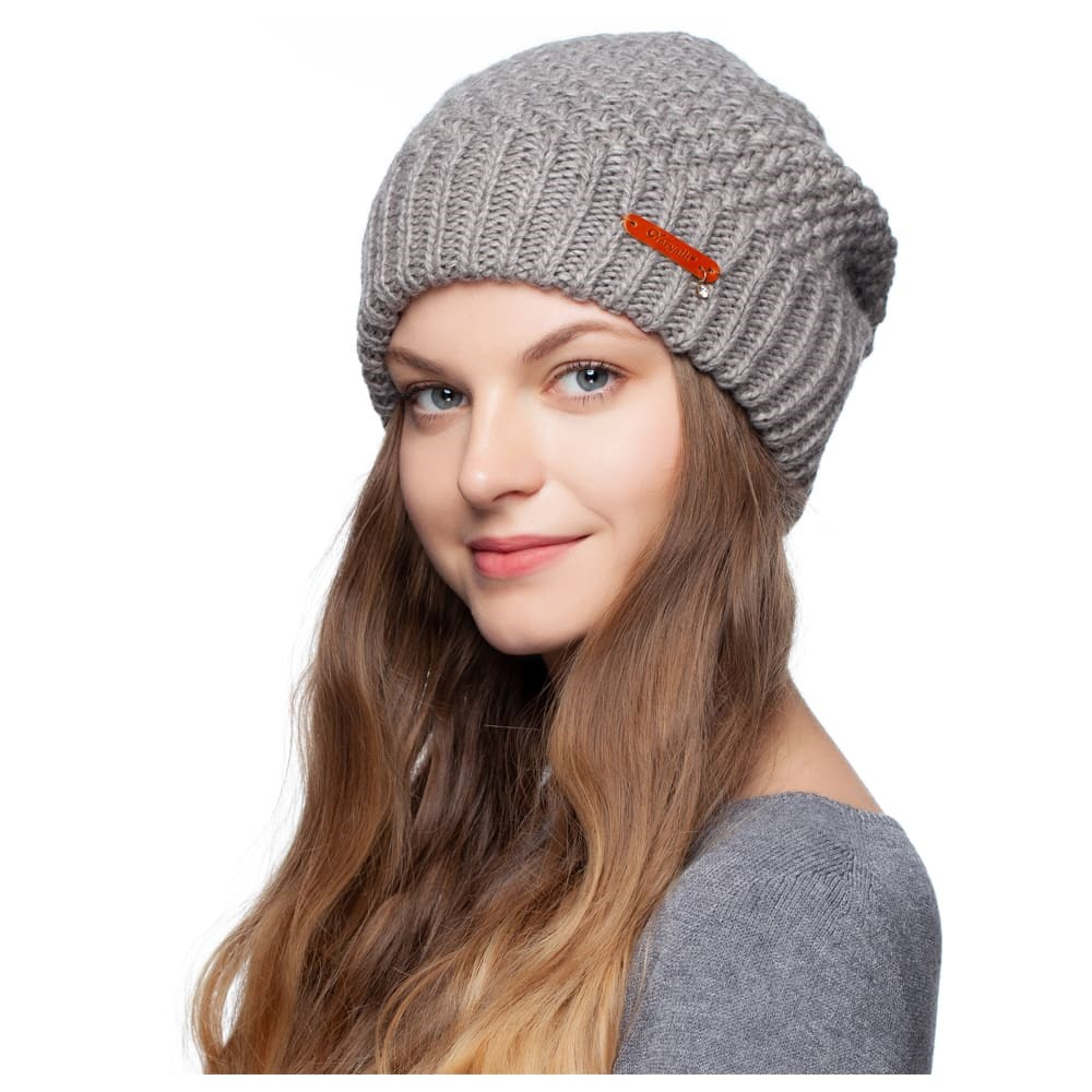 Hat warm Noryalli 47409 cap double warm noryalli light gray
