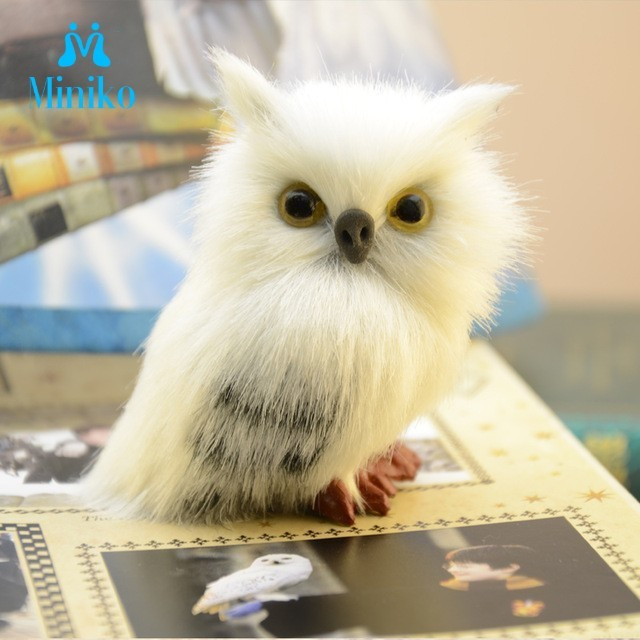 Super Cute Owl Harri Potter Plush Stuffed Doll Props Ornaments Hanging Pendant Gifts Collectible Boys Girls Plush Toy Gifts