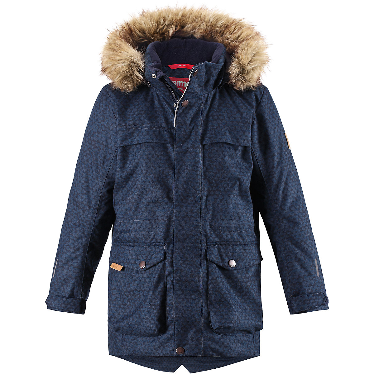 REIMA Jackets 8665451 for boys polyester winter  fur clothes boy reima jackets 8688821 for boys polyester winter fur clothes boy