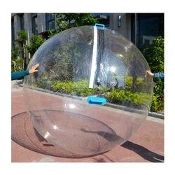 Freies Verschiffen 2,0 m Durchmesser Aufblasbare Wasser Zu Fuß Ball Menschliche Hamster Ball Riesigen Aufblasbaren Ball Wasser Zorb Ball