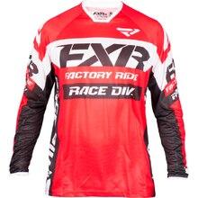 2019 FXR Hot MOTO GP Motorcycle Jerseys Moto XC Motorcycle GP Mountain Bike Motocross Jersey XC BMX DH MTB DH T-Shirt Clothes цены