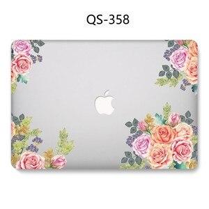 Image 3 - Chaude Nouveau Portable étui pour MacBook 13.3 15.6 Pouces Pour MacBook Air Pro Retina 11 12 13 15.4 Avec Protecteur Décran Clavier Cove Cadeau