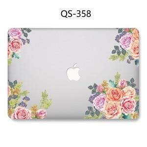 Image 3 - Hot New Laptop Case Para Macbook 13.3 15.6 11 12 13 Polegada Para MacBook Air Pro Retina 15.4 Com Tela protetor de Teclado Enseada Presente