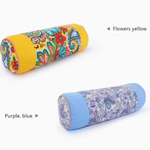 Buckwheat Shell Cervical Pillow Round Candy Skin Neck Place The Physiotherapy Under