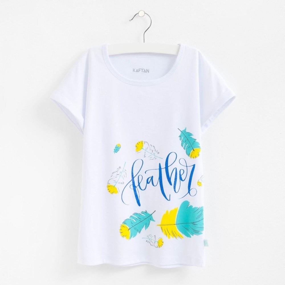 T Shirt Feathers bel 3 6g. 100% cotton sprut hijaro 3 6g 40mm lspk