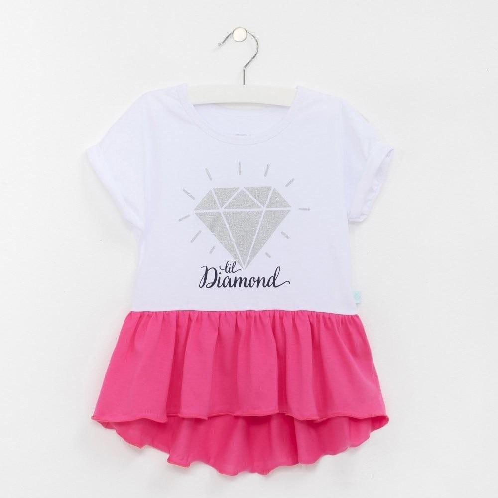 T Shirt Diamond bel 7 10 years. 100% cotton keyboard 7 years