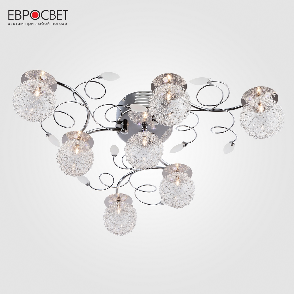 Chandeliers Eurosvet 29211 ceiling chandelier for living room to the bedroom indoor lighting jueja modern crystal chandeliers lighting led pendant lamp for foyer living room dining bedroom