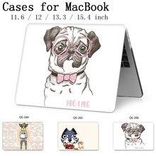 ホットのためのラップトップケースノートブックバッグ Macbook Air のプロ網膜 11 12 13 15.4 13.3 インチ画面プロテクターキーボード入り江