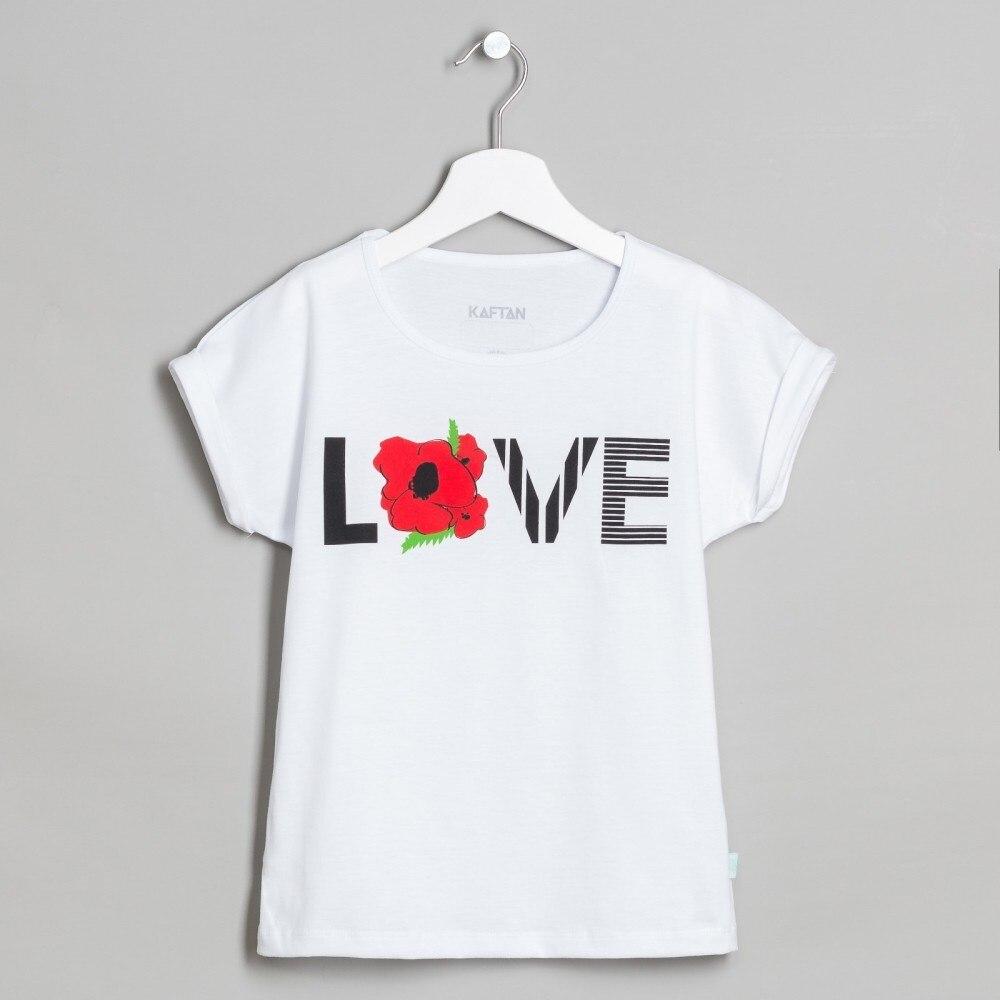T Shirt Love bel 7 10 years. 100% cotton skew neck love print t shirt