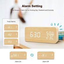 Multi-functional Led Digital Alarm Clock Innovative LED Student Electronic Clock Snooze Sensor Kids Table Clock Bedroom Clock
