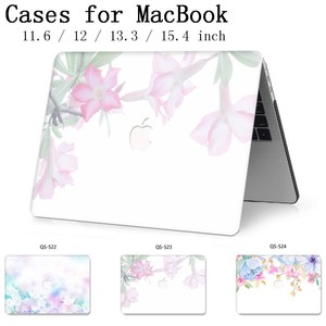 Image 1 - Laptop Case For New MacBook 13.3 15.4 Inch For MacBook Air Pro Retina 11 12 13 15 With Screen Protector Keyboard Cove Apple Case