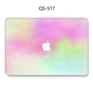 Image 3 - Na laptopa etui na Macbooka 13.3 15.4 Cal dla MacBook Air Pro Retina 11 12 13 15 z osłoną ekranu klawiatura Cove nowy przypadku jabłko