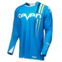 2018 New Seven Blue Motocross jersey Long Sleeve Racing Clothing Equipement Moto cross MTB Downhill Jersey Motorcycle Ropa
