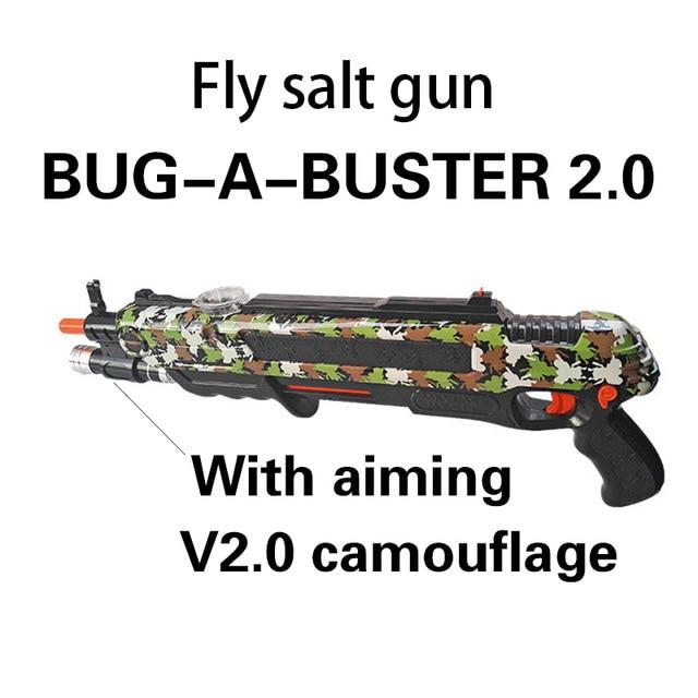 Pistola de sal Creative bug un sel Pistolet Sel Poivre Balles Blaster Airsoft pour Bug Soufflette