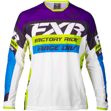 FXR FISH Racing GP Mens Jersey STAR  White MX MTB Off Road Mountain Bike DH Bicycle moto BMX motocross jersey
