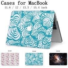 Hot New Para MacBook Air Pro Retina 11 12 13 15 Para Apple Caso Laptop Saco 13.3 15.4 Polegada Com protetor de tela Teclado Enseada tas