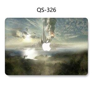 Image 4 - Сумка для ноутбука чехол Горячий для MacBook Air Pro retina 11 12 13 15,4 для Macbook 13,3 15,6 дюймов с защитой экрана клавиатуры в подарок