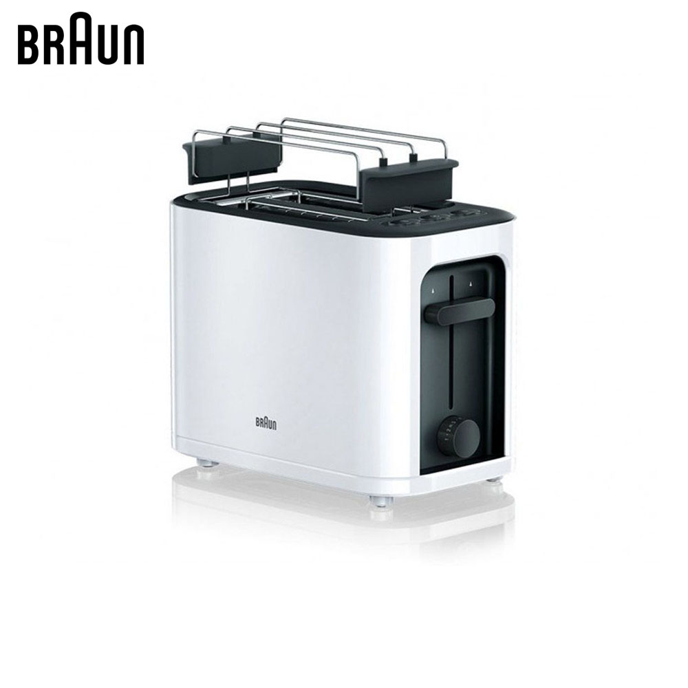 Toasters Braun PurEase HT3010WH sandwich maker bread toaster dmwd mini household electrical toaster baking bread sandwich maker grill breakfast toast machine oven 2 slices pieces 220v eu us