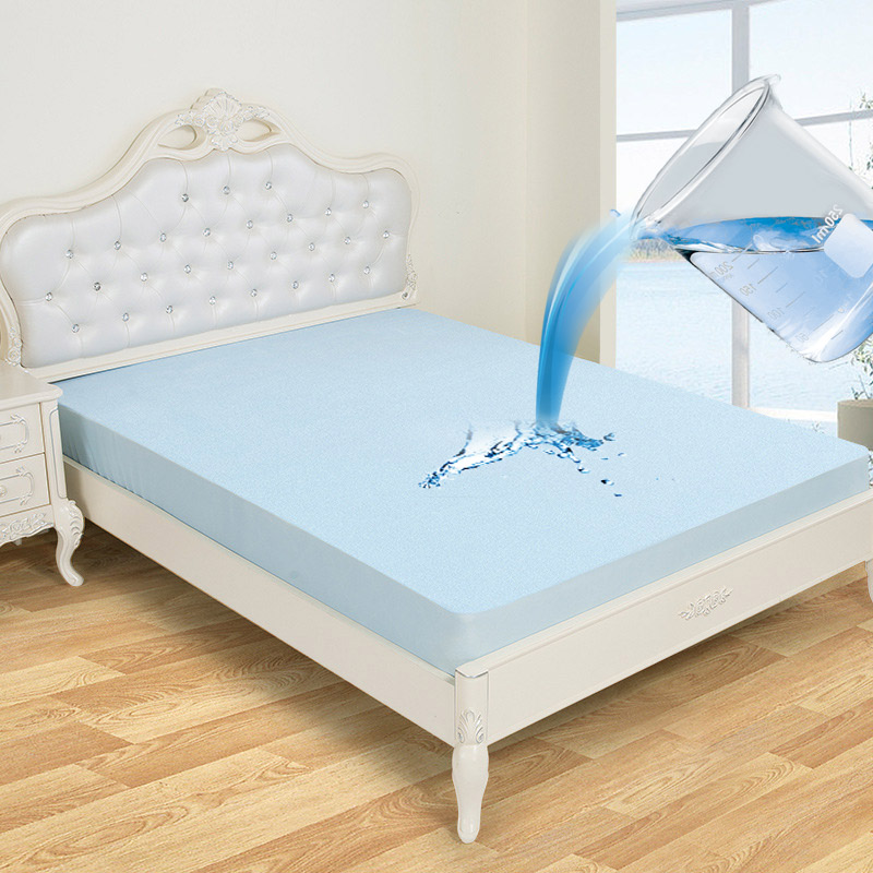 Bamboo Mattress Protector Cover Pad Waterproof Soft Fabric Breathable All Sizes
