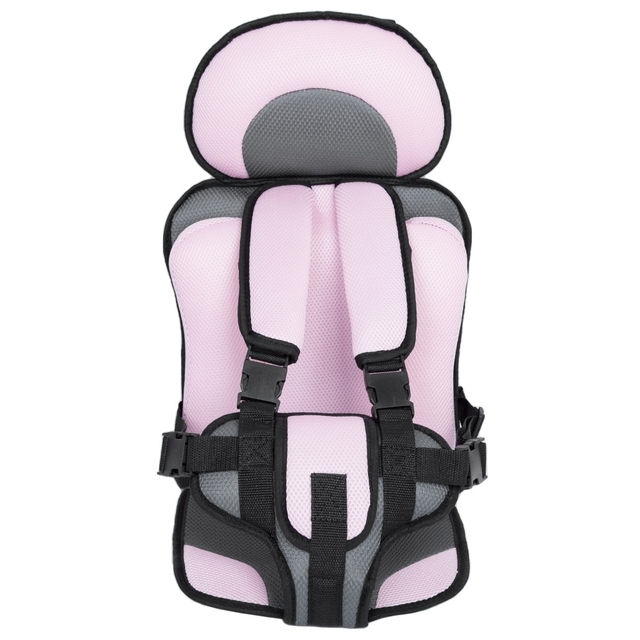 5 Colors Adjustable Baby Safe Seat Toddler Booster Seat Child Seats Portable Baby Chair Mat For 6 Months-5 Years Old Baby