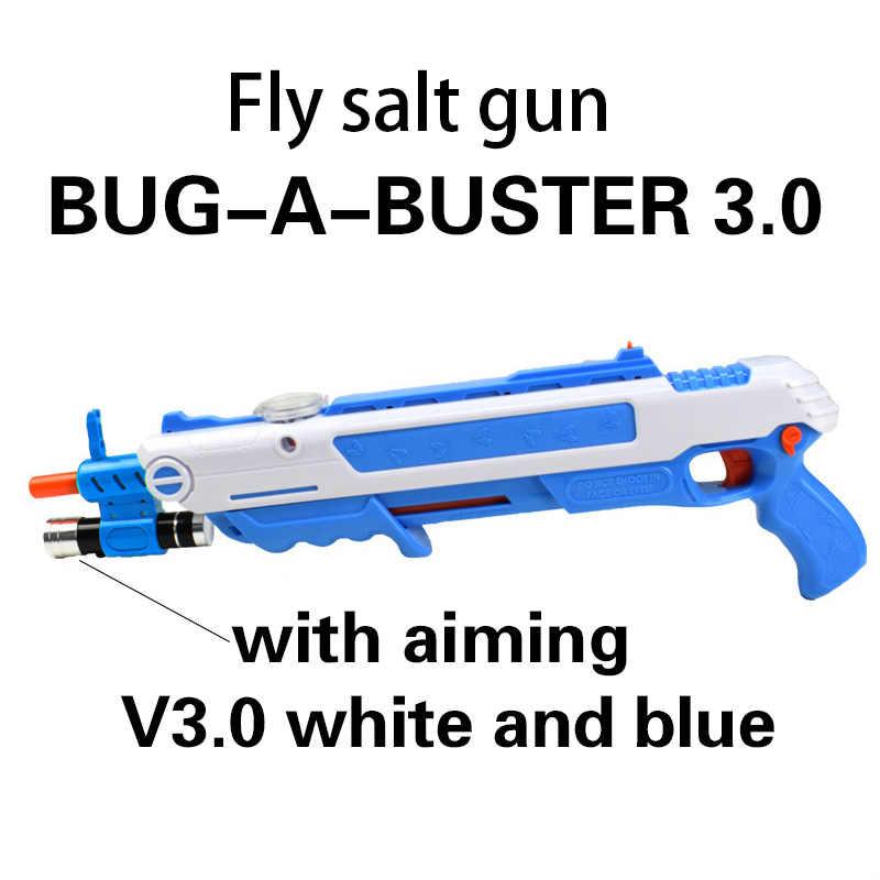 Pistolet de sal kreatywny błąd soli pistolet sól pieprz kule Blaster Airsoft dla błąd pistoletu cios komara modelu zabawki gunChristmas prezent